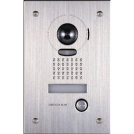 Aiphone Jk-Dvf With Flushmount Stainless Steel Front door station