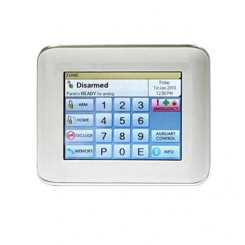 Ness D16x Panel With Lcd Keypad