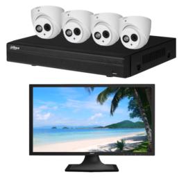 Dahua 4 Camera CVI kit