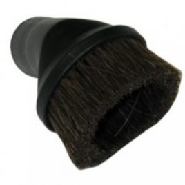 Round Dusting Brush – Horse Hair