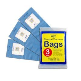 Genuine Valet Blue Universal Vacuum Bags 3pack