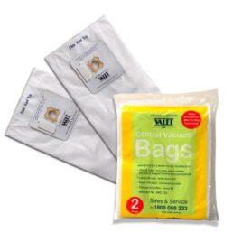 Genuine Valet White Max-Flo Hepa Vacuum Bags 2pack