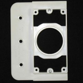 Ducted Vacuum Inlet Back Plate Mount Plate