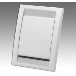 Deco White Inlet Cover